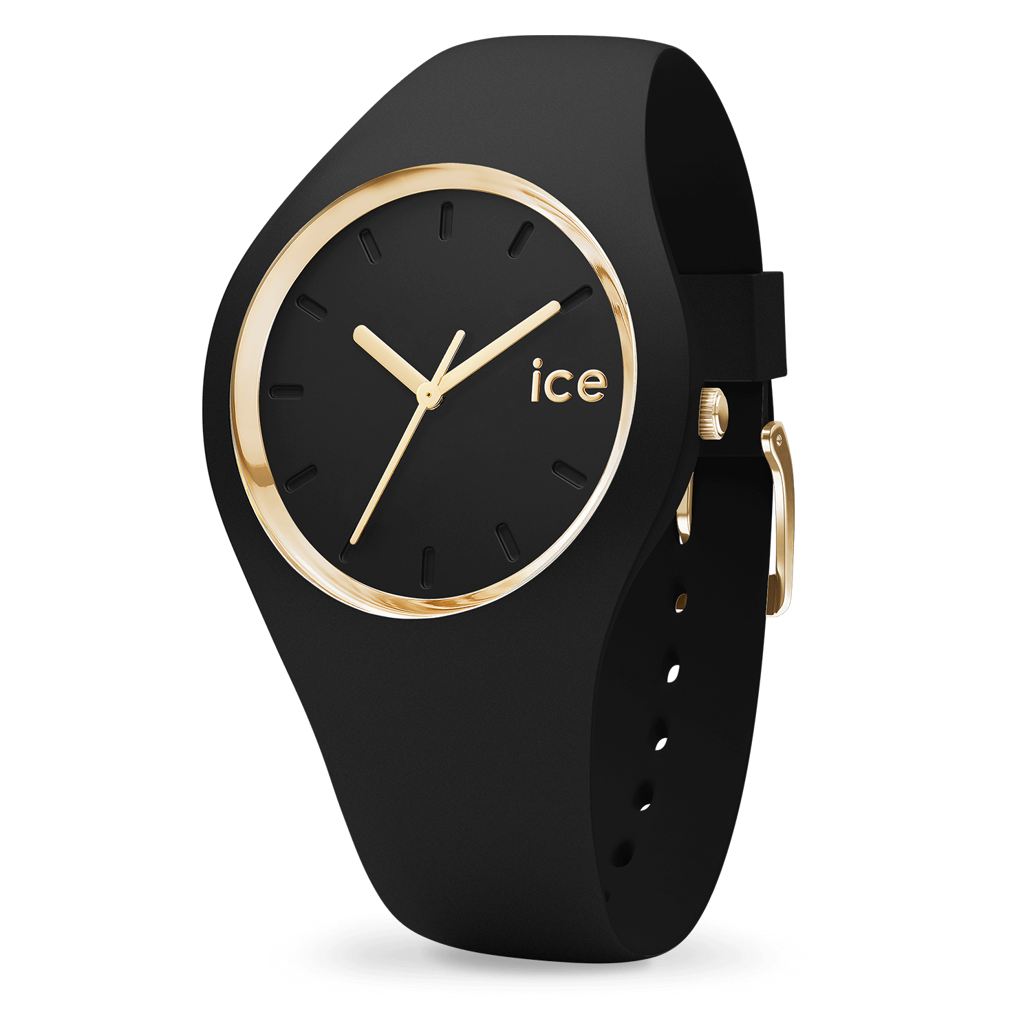 montre ice watch ice glam black small. Black Bedroom Furniture Sets. Home Design Ideas