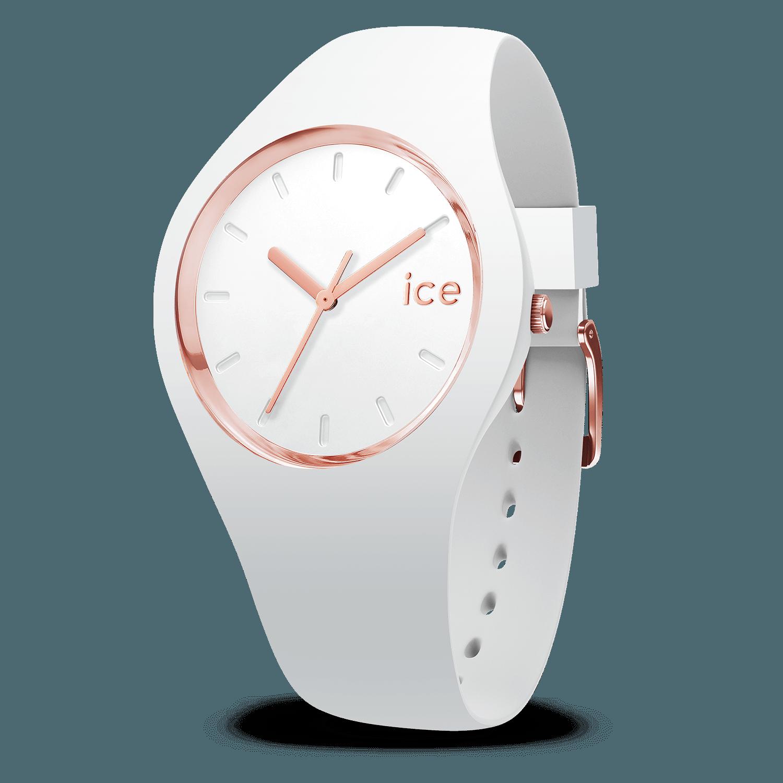 d4c0301994076 Ice-Watch | ICE glam white rose-gold - medium