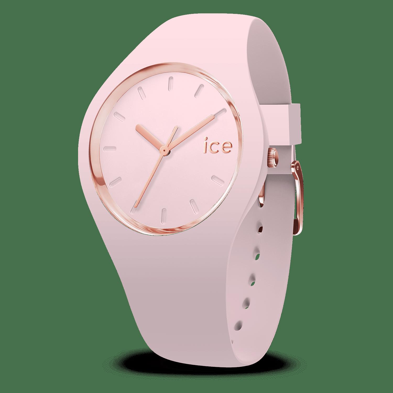ice watch ice glam pastel pink lady medium. Black Bedroom Furniture Sets. Home Design Ideas