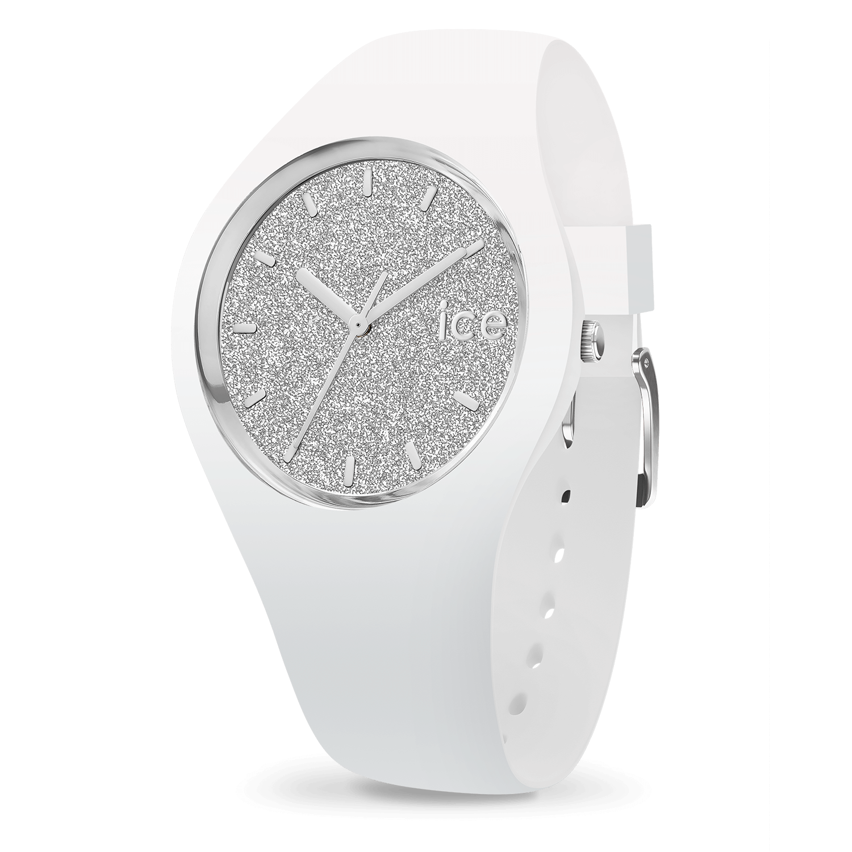 40c0e3b09afd1 Ice-Watch | ICE glitter white silver - medium
