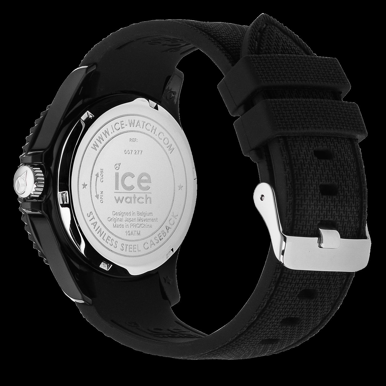 586342168eb86 ICE sixty nine - Black. 69,00 €. Cette montre mixte noire de taille moyenne  au bracelet en silicone ...