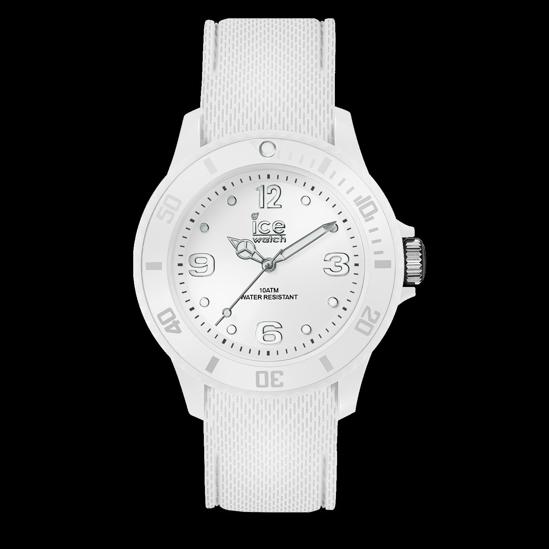Ice Nine Weiß Uhr WatchSixty Mittel Größe qpSUzMVLG