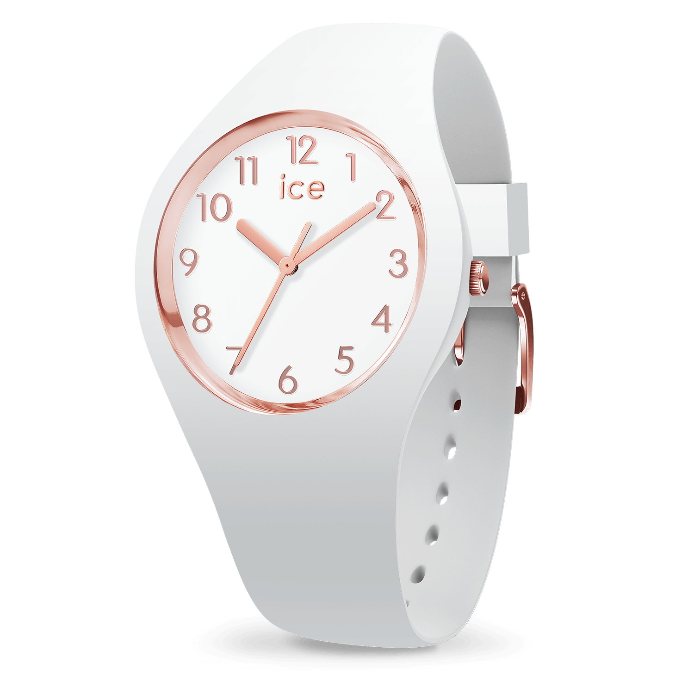 Reloj Ice Watch | ICE glam blanco rosa oro pequeño