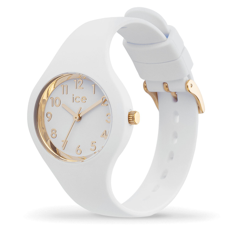 Reloj Ice Watch | ICE glam blanco dorado números extra pequeño