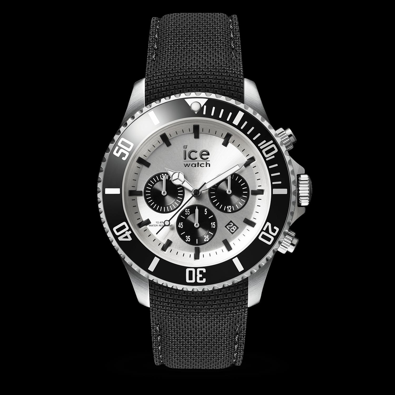 ICE steel - Black Silver - Chrono 30094701e7f