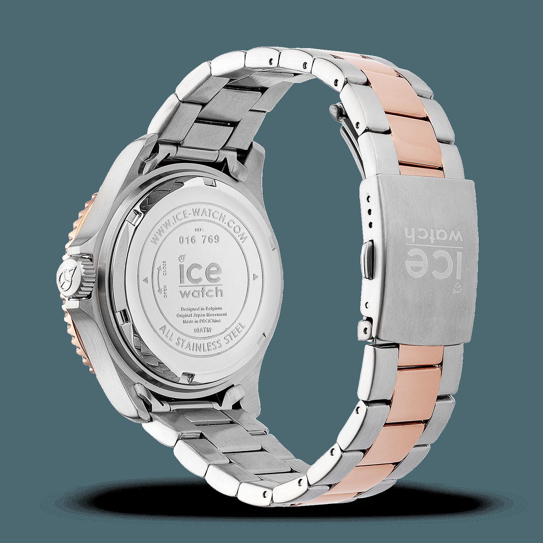 e696870effdac Montre Ice-Watch | ICE steel silver sunset rose-gold - moyenne