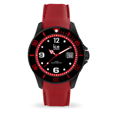 ICE steel - Black red