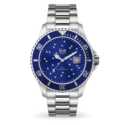ICE steel - Blue cosmos silver