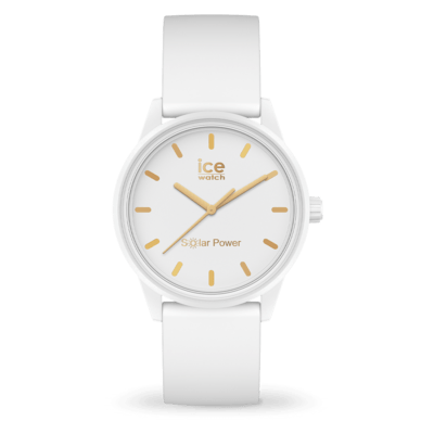 ICE solar power - White gold